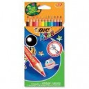 Моливи 12 цв. BIC Kids Eco Evolution