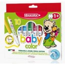 Флумастри 10 цв. Fibracolor Baby Color