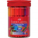 Faber-Castell Connector флумастери 50 цв.