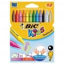 BIC Kids Plastidecor Пастели 12цв.