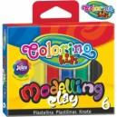 Colorino Kids пластилин 6 цвята
