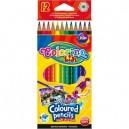 Colorino Kids акварелни цветни моливи 12 цв