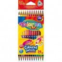 Colorino Kids цветни моливи двувърхи триъгълни 24 цв. 12 бр.