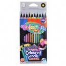 COLORINO KIDS цветни моливи металик 10 цв.