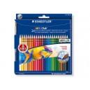 Цветни моливи акварелни 24 цв. STAEDTLER Noris Club Aquarell 144 10