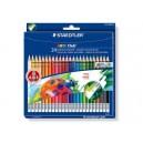 Цветни моливи с гума 24 цв. STAEDTLER Noris Club 144