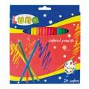 Цветни моливи 24 цв. Luna