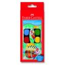 Faber-Castell акварелни бои 12 цв. Ф24 мм