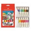 Faber-Castell темперни бои 12 цв. тубички