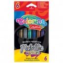 Colorino Kids маркери металик 6 цв.