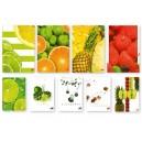 Тетрадка малък формат А5 60л Fruits