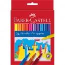 Faber-Castell флумастери 24 цв.