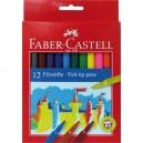Faber-Castell флумастери 12 цв.