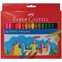 Faber-Castell флумастери 36 цв.