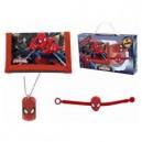 Spiderman к-т портмоне, гривна и медальон