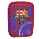FC Barcelona несесер с 2 ципа пълен, музикален