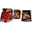 Bambino Premium Fireman ученическа раница с аксесоари