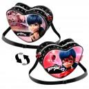 LADYBUG Dual малка чанта-сърце