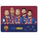 FC Barcelona подложка за бюро ламинирана