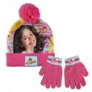 SOY LUNA комплект шапка и ръкавици