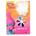 TROLLS комплект за оцветяване