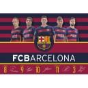 FC Barcelona подложка за бюро