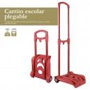 CERDA количка за раница сгъваема червена