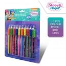 SHIMMER and SHINE цветни моливи 10 цв.