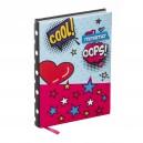 MITAMA Pop Art тефтер с текстилни корици