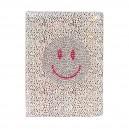 SMILEY дневник с кристали А5