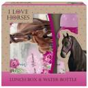 HORSE комплект кутия за храна и бутилка