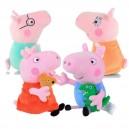 PEPPA PIG семейство 4 бр. плюшени