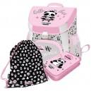 LizzyCard Hello Panda комплект раница, несесер и спортна торба