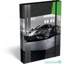 LizzyCard Ford GT Green кутия с ластик А4