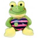 Плюшена играчка - Жаба със сърце, 30 cm