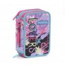 MITAMA Lovers несесер 3 ципа, зареден с пособия