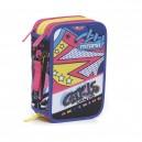 MITAMA Roller Girl несесер 3 ципа, зареден с пособия
