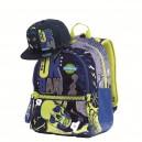 MITAMA Plus Sport ученическа раница с подарък Шапка