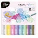 KIDEA цветни моливи 24 цв.в метална кутия Пастел