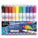 KIDEA маркери с печати 10 цв.