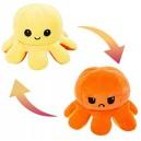 Октопод с две лица плюшен, Жълто-Оранжево