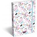 LizzyCardLollipo Uni-Cool кутия с ластик А4