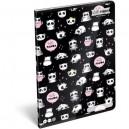 Lizzy Card Panda тетрадка А5 40 л, ред
