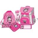 Lizzy Card Lollipop Raccoon Sweetie раница комплект 5 в 1